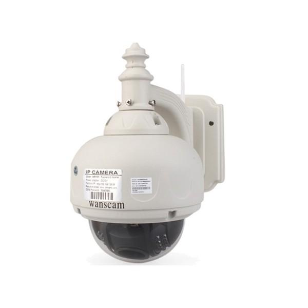 hw0028 wanscam dome ip ptz infrarouge exterieur zoom x3 hd 720p 1280x720 h264 p2p hds