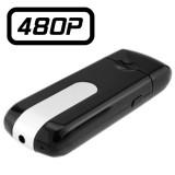 USBCAM1 U8 Clé USB Caméra Espion 480P Micro SD jusqu'à 32 Go Détection de Mouvements Photo Vidéo Dictaphone 640x480