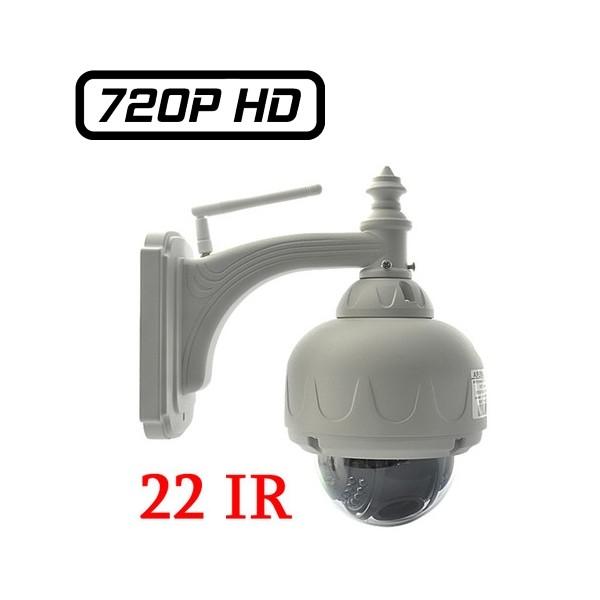 wanscam hw0028 dôme mobile motorisé hd 720p wifi 1280x720 ptz