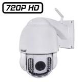 HW0025 Wanscam Caméra dome PTZ IP exterieur zoom X3 Wifi Infrarouge 30 mètres HD 720P métal