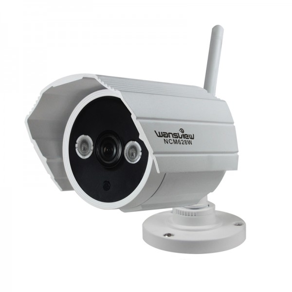 Wansview ncm628w cam ra ip wifi onvif infrarouge etanche for Camera ip exterieur wifi