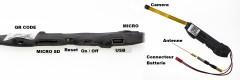 Module V99 caméra espion réseau Ip avec port micro SD pour enregistrer, Audio, Détection, 1080p,
