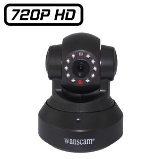 HW0024 Wanscam Caméra IP WIfi motorisé HD 1280x720 avec port Micro SD Onvif