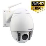 HW0045 Wanscam Caméra IP Extérieur PTZ Zoom X5 Wifi 16 Go de mémoire Infrarouge 60 mètres