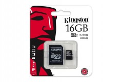 KINGSTON CARTE MICRO SD SDHC 32 GO GB CLASSE 10 SDC10G2 UHS-I HD 45MO/S
