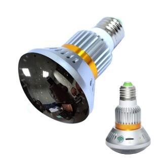 BC-881M Ampoule Miroir Caméra Espion IP WIFI HD 960P Micro SD jusqu'à 32 Go Max 1280x960 Détection Leds Infrarouges Invisibles