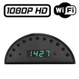 RVLIP1 Réveil Caméra Espion IP WIFI FULL HD 1080P Micro SD jusqu'à 256 Go 11 Leds Infrarouges Détection de Mouvements Cloud P2P