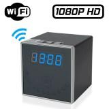 RVLIP2 Réveil Caméra Espion IP WIFI FULL HD 1080P Micro SD jusqu'à 256 Go 10 Leds Infrarouges Détection de Mouvements Cloud P2P