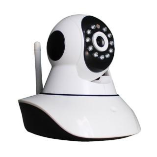 HW0041 Wanscam Caméra IP mobile intérieur 720p micro SD 128 Go max infrarouge Wifi ONVIF P2P