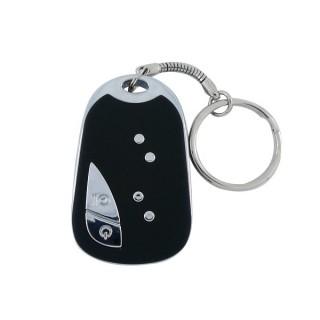 CAR909 Porte-Clé Caméra Espion argent gris 909 720x480 vidéo photo batterie USB 32 GO clef