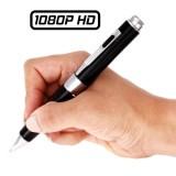Stylo caméra Full HD 1080P espion caché HD Vidéo Photo Audio 32 Go GB micro SD 1920x1080 HDS-PENCAM8 PENCAM8 noir argent