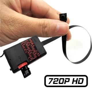 MT185 Module Caméra Espion Bouton HD 720P Micro SD jusqu'à 256 Go Batterie Interne et Externe Détection de Mouvements 1280x720