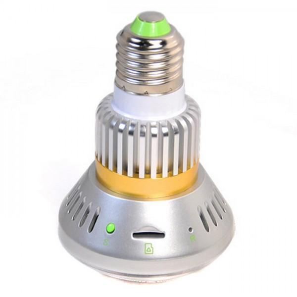 ampoule miroir cam ra espion 720x480 enregistreur carte micro sd 32 go max infrarouge invisible. Black Bedroom Furniture Sets. Home Design Ideas