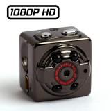 SQ8 Caméra Cube HD miniature 22 mm Full-HD 1080P Infrarouge Batterie Sortie Vidéo MJPG micro SD 32 GO