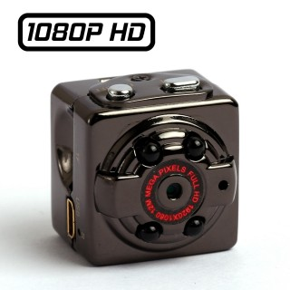 SQ8 Caméra Cube HD miniature 22 mm Full HD 1080P Micro SD jusqu'à 32 Go max Infrarouge Batterie Sortie Vidéo MJPG