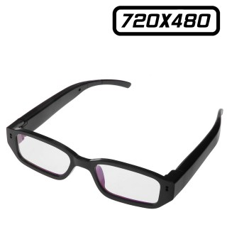 VUECAM2 Lunette de Vue Caméra Espion 480P 32 Go Max Video Photo 720x480