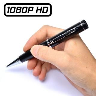 PENCAM10 Stylo Caméra Espion Full HD 1080P Micro SD jusqu'à 64 Go Détection Vidéo Photo HDMI 1920x1080 Noir Cache Objectif