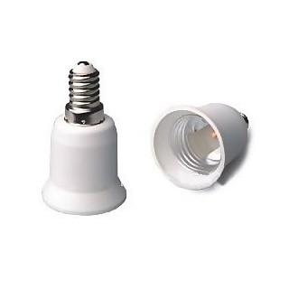 E27E14 Adaptateur Raccord Culot E27 vers E14 pour Ampoules Caméras ou Standards BC-ACE14