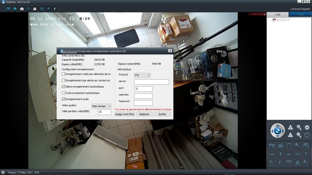 Ib 181m ampoule miroir cam ra espion g n ration 2 hd 960p for Effet miroir psychologie definition