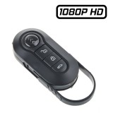 TCHD1 Télécommande Bip Clé de Voiture Caméra Espion Full HD 1080P 64 Go Max Vidéo Détection Photo Audio 2 IR LEDs