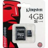 Carte Memoire KINGSTON Micro SD SDHC de 4 à 32 GO Classe 4 avec adaptateur