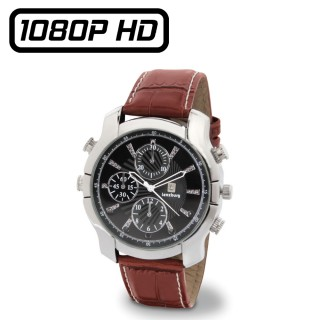 WTCH15 Montre Caméra Espion Full HD 1080P Mémoire de 8 à 128 Go Leds Infrarouges Invisibles Vidéo Photo Audio