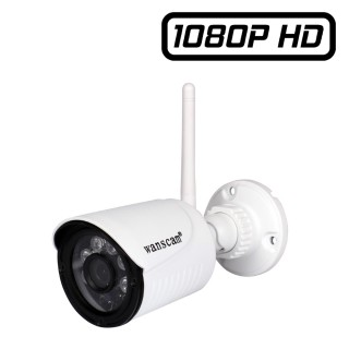 HW0022-1 Wanscam Caméra Ip extérieur Full HD 1080P 1920x1080 P2P Wifi Infrarouge enregistreur micro SD ONVIF