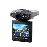 CARHDDVR Camera Embarquée pour Voiture 480P Carte SD jusqu'à 32 Go avec Écran LCD Détection Vidéo Photo 640x480