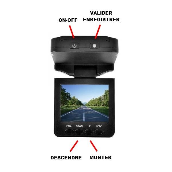 carhddvr camera embarqu e pour voiture 480p carte sd jusqu. Black Bedroom Furniture Sets. Home Design Ideas