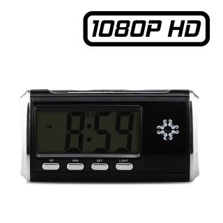 RVL1NFHD Réveil Caméra Espion FULL HD 1080P Micro SD jusqu'à 256 Go Détection de mouvements Vidéo Photo Dictaphone 1920x1080
