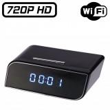 RVLD2IP Réveil Caméra Espion IP Wifi HD 720P Micro SD jusqu'à 256 Go Détection Mouvement IOS ANDROID Design 1280x720