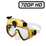 MSQ7 Masque de plongée caméra HD 720P lumière Led micro SD 32 Go Vidéo photo