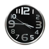 HL98 Horloge mural Caméra Espion noir HD 1280x720 Wifi iphone Android