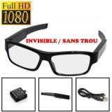 VUECAM6 Lunettes de Vue Caméra Objectif Invisible Full HD 1080P Micro SD 64 Go max Vidéo télécommande batterie interchangeable