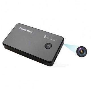 PWBT6 Power Bank Caméra Espion Wifi HD 720P Micro SD jusqu'à 256 Go Batterie longue durée H264 android IOS