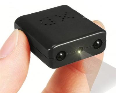 XD01 Mini Caméra DV vision nocturne Full HD 1080P 256 Go Max Vidéo et Détection Led Infrarouge invisible 1920x1080