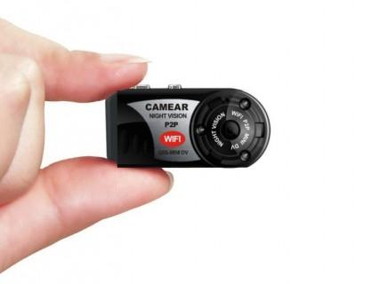 MDQ5 Caméra IR Espion IP Wifi 480P Micro SD jusqu'à 32 Go P2P IOS Iphone Android Sans fils 640x480 infrarouge