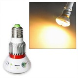 BC-785Y Ampoule LED Jaune Caméra Espion IP WIFI HD 720P Micro SD 1280x720 Détection Leds Infrarouges IOS android E27