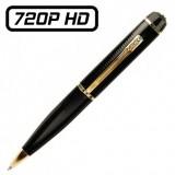 PENCAMHD720PG Stylo Caméra Espion HD 720P Micro SD jusqu'à 32 Go Détection de Mouvements Vidéo Photo 1280x720 Robuste USB