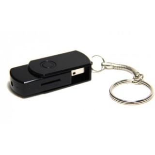 USBMICAM Mini Clé USB Caméra Espion Blanche ou noir avec batterie ultra miniature 480P