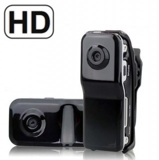 MD80BHD Caméra sport miniature MD80 HD 720P 1280X720 micro SD 32 GO max détection sonore 60 db dv