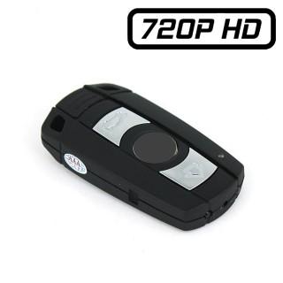 BMCLE Clé de Voiture Caméra Espion Type BMW HD 720P Micro SD jusqu'à 32 Go Vision Nocturne Sortie Vidéo RCA BNC 1280x720