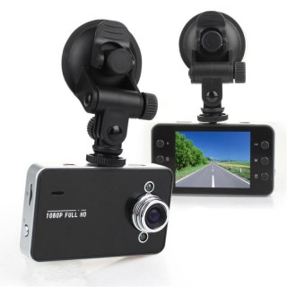 """K6000N Camera Embarquée pour Voiture Full HD 1080P Micro SD jusqu'à 32 Go Ecran TFT 2,7"""" Vidéo Détection Photo 1920x1080"""